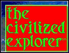 """The Civilized Explorer's lovely logo"""