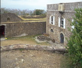 A view of Fort Napoleon, Les Saintes, French West Indies.